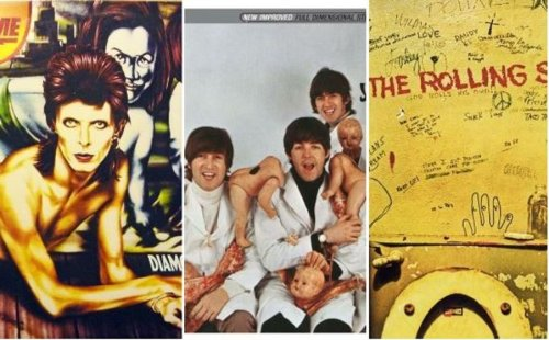 From David Bowie to The Beatles: 15 controversial album covers that were banned