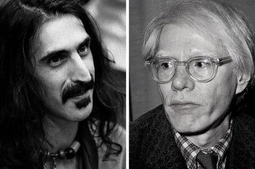 Watch the incredibly awkward interview between Andy Warhol and Frank Zappa