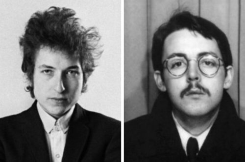 """Watch The Beatles talk about meeting their """"idol"""" Bob Dylan"""