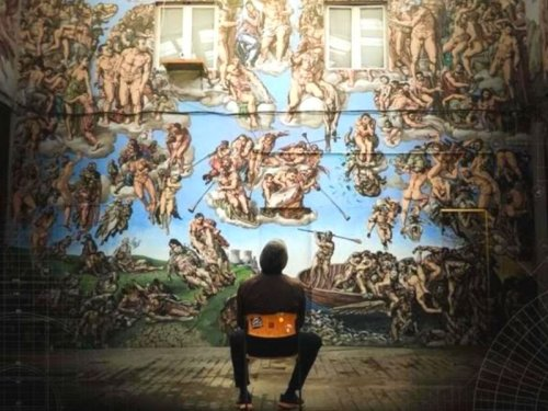 The Underground Sistine Chapel: The world's first crypto-funded film