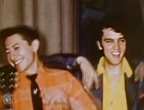 The earliest known footage of Elvis Presley, Buddy Holly and Johnny Cash recorded in 1955