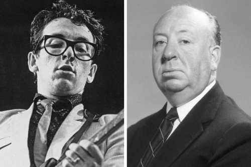 How Alfred Hitchcock inspired a classic Elvis Costello song