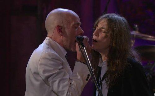 The song R.E.M. wrote for Patti Smith
