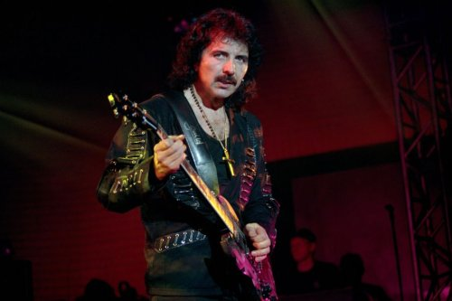 Black Sabbath's Tony Iommi named the greatest guitar riff off all time