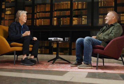 Paul McCartney tells Bob Mortimer the story behind Beatles song 'Rocky Raccoon'