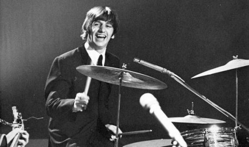 The only Beatles song to feature a drum solo