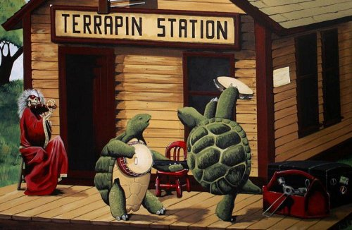 The story behind the Grateful Dead's Terrapin Turtles