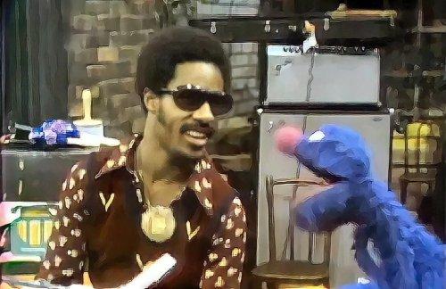 Watch Stevie Wonder sing 'Superstition' on Sesame Street back in 1973