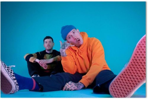 Larry Pink The Human announce themselves with 'M1xtape'