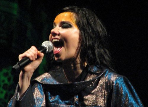 What's that sound? Björk's electrified 'Thunderbolt'