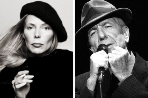 How the brief romance of Joni Mitchell and Leonard Cohen defied expectation