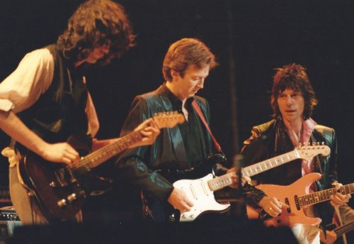 The jam session that caused Eric Clapton and Jimmy Page to fall out