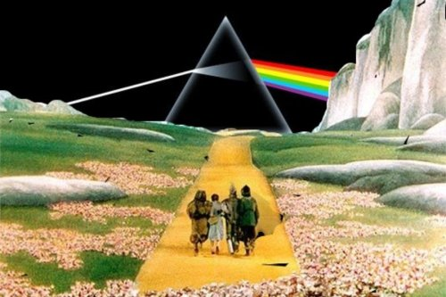 Pink Floyd meets 'The Wizard of Oz' in an absurdly perfect way: 'The Dark Side of the Rainbow'