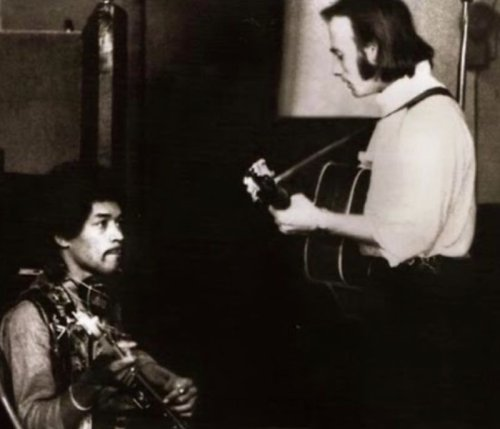 Listen to the rough recordings of the Jimi Hendrix and Stephen Stills collaboration