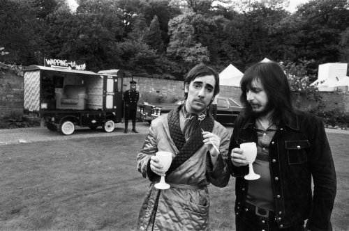 The Who duo Keith Moon and John Entwistle were once accused of kidnap