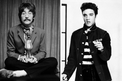 Why Elvis Presley hated John Lennon from their very first meeting