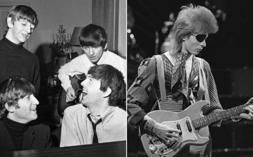 Enjoy a rare recording of David Bowie covering The Beatles song 'This Boy' live