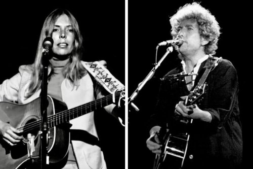 Joni Mitchell's favourite Bob Dylan song and the influence it had on her