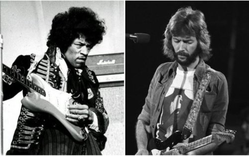 The night Jimi Hendrix died and the guitar Eric Clapton never got to give him