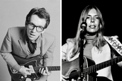Elvis Costello's mesmerising cover of Joni Mitchell's song 'Edith and The Kingpin'
