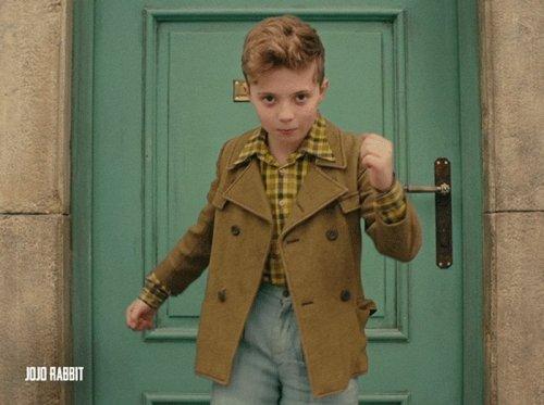 Revisit the euphoric David Bowie-inspired final scene of 'Jojo Rabbit'