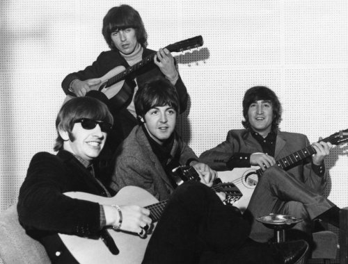 Listen to the isolated guitar for The Beatles song 'Paperback Writer'