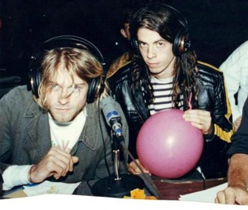 When Dave Grohl played Kurt Cobain the first Foo Fighters' demos