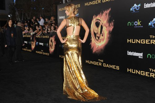 Great Outfits in Fashion History: Jennifer Lawrence in a Golden Prabal Gurung Gown