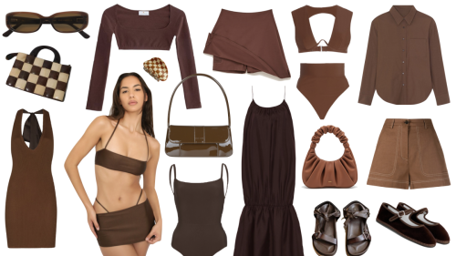 Your Summer Wardorbe Is Craving Chocolate Brown