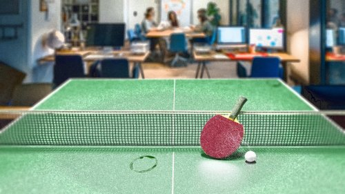 RIP ping-pong. The era of wacky office perks is dead
