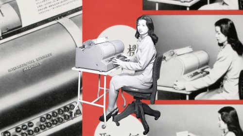 Meet the mystery woman who mastered IBM's 5,400-character Chinese typewriter