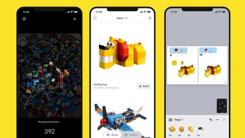 Got a pile of random Lego? This amazing app tells you what you can build