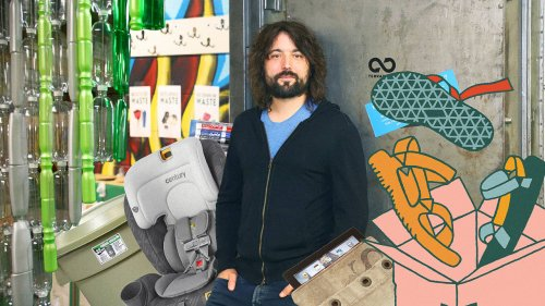 This man is on a mission to recycle everything in your life