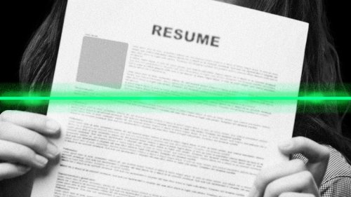 This ideal résumé template to use if you're looking for a job in tech