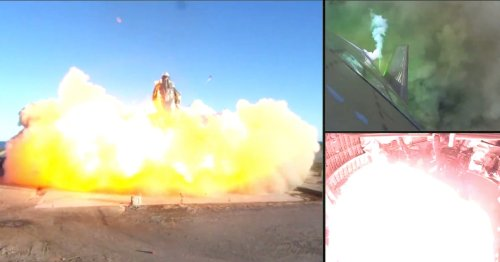 Show Your Kids the Epic SpaceX Crash — For Science