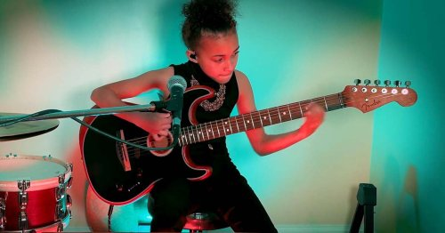 Watch Child Prodigy Nandi Bushell Crush a Pixies Cover