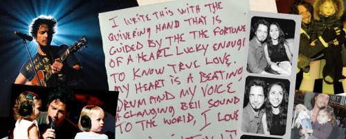 """""""Be Mine in Joy"""": Chris Cornell's Touching Love Letter to His Wife"""