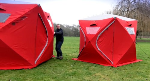 Qube Tents Connect To Make A Giant Camping Fortress