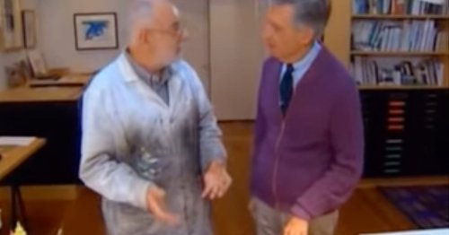 Resurfaced '90s Clip of Eric Carle on Mister Rogers Will Make Your Whole Day