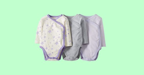 Stock Up on the Best Baby Onesies, Because You'll Go Through a Ton of Them