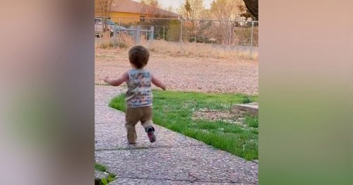 Toddler's Viral Reaction to Dad's Return Will Make You Miss the Baby Days