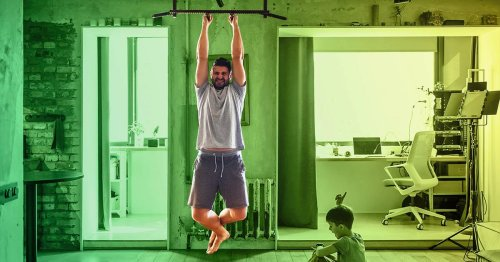 The Ultimate Pull-Up Bar Workout (No Pull-Ups Required)