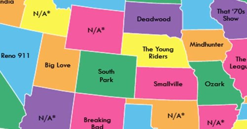 "This Super-Biased Map Shows the ""Best"" TV Show Set In Every State"