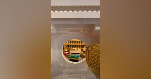 You Have to See This Lego Artist's Massive Masterpiece
