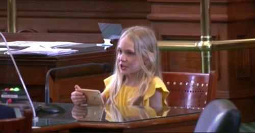 Watch This 10-Year-Old Girl Testify Against Texas' Anti-Trans Bill