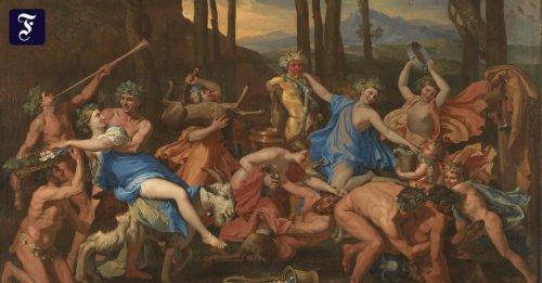Maler Nicolas Poussin: Der Hirtengott wird abgekühlt