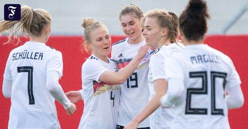 Deutsche Nationalmannschaft: DFB-Frauen bezwingen Norwegen