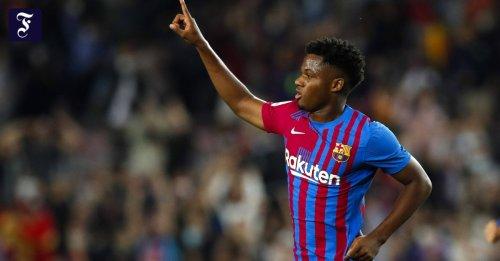 Internationale Ligen: Ansu Fati lässt Barça aufatmen