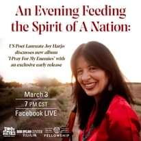 """An Evening with Joy Harjo: """"Feeding the Spirit of a Nation"""""""