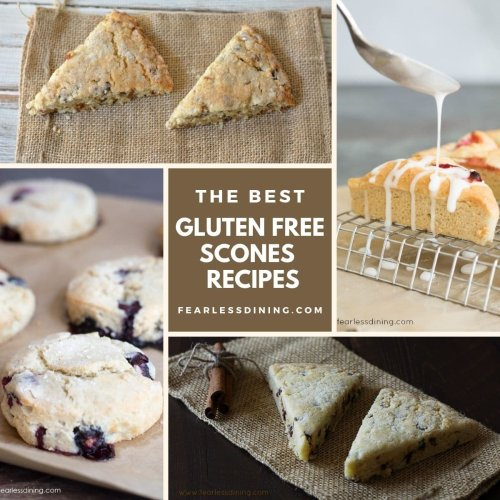 Best Gluten Free Scones for Tea Time | Fearless Dining